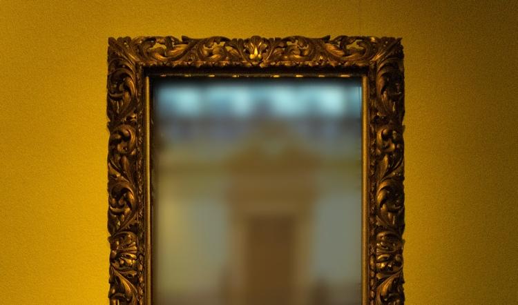 antike Spiegel Wert erkennen